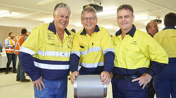 Goldfields gas pipeline commissioned