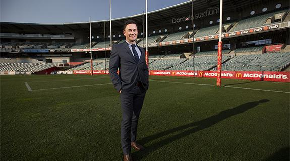 Record crowds to test Domain stadium