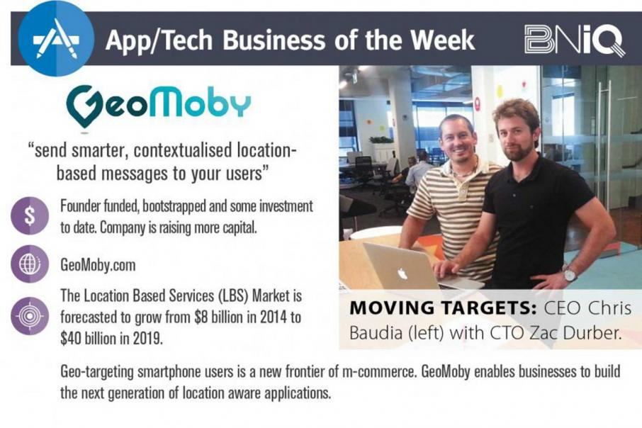 App/tech business of the week – GeoMoby
