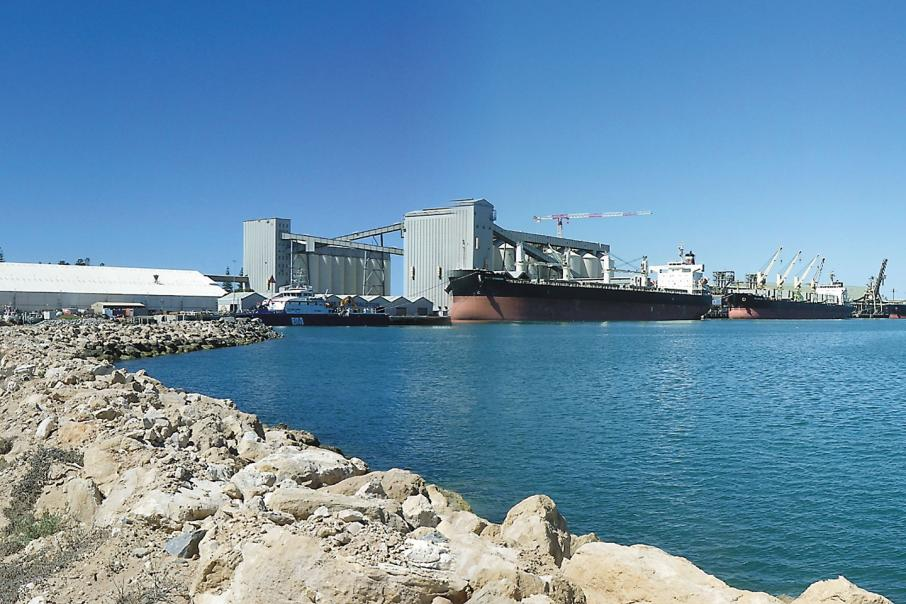 Charge change washes through Geraldton Port