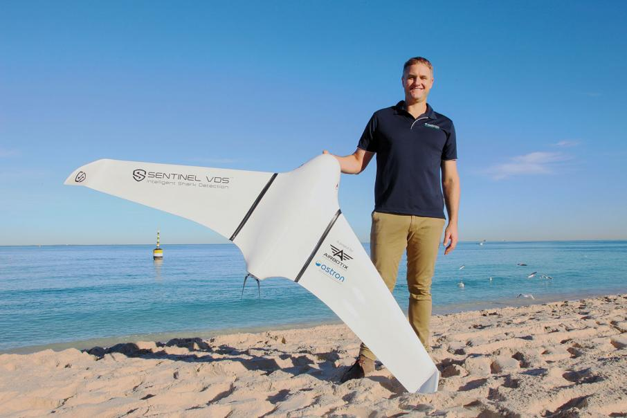 High-tech take on shark deterrence
