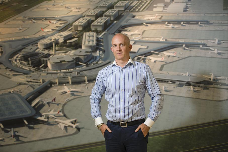 Exports drive airport CEO's flight plan