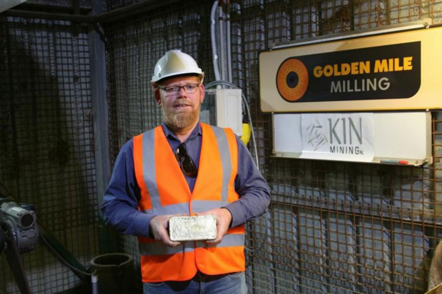 Kin pours first gold at Leonora