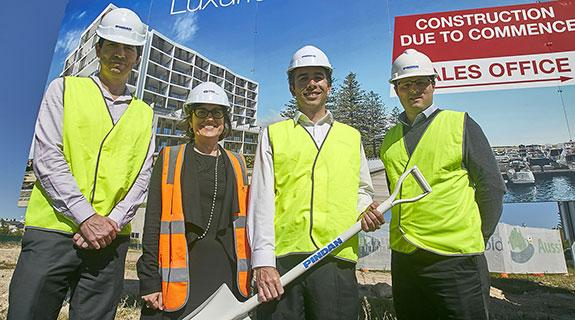 Pindan breaks ground at Marina Edge