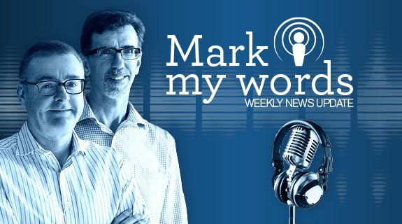 Mark my words podcast