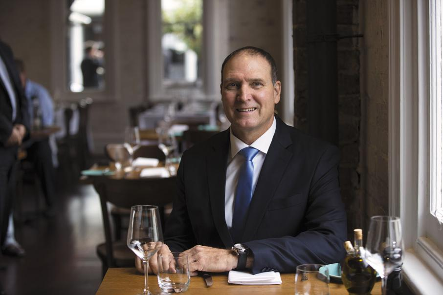 CEO LUNCH with Nev Power