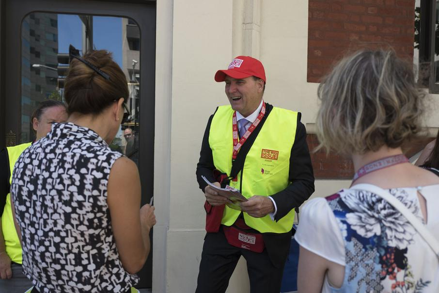 Leaders lend voice to The Big Issue
