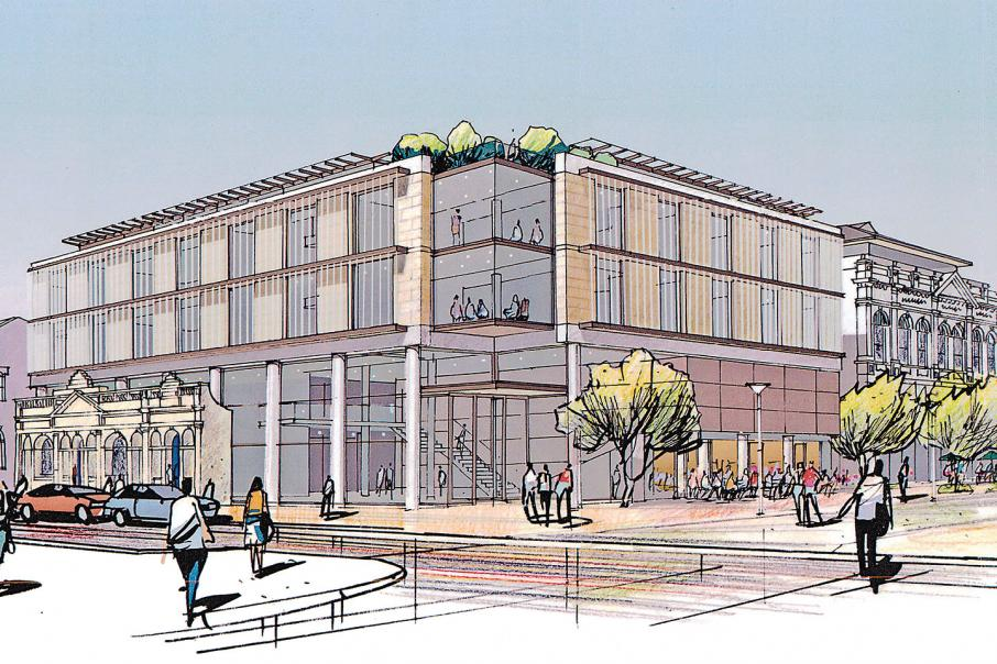 Uni hits snag in new building plan
