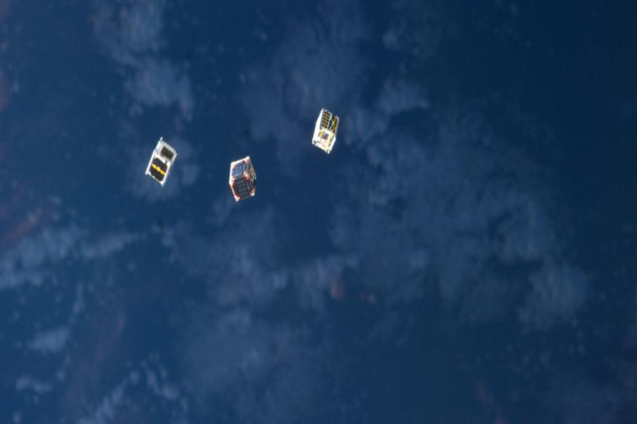 Sky and Space Global miniature telco satellites built by next month