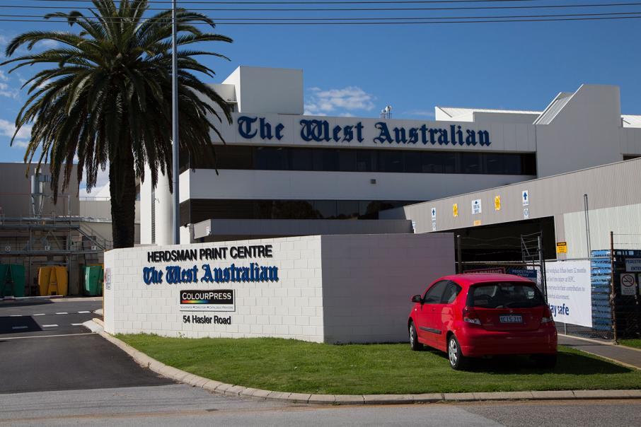 Jobs to go at The West Australian