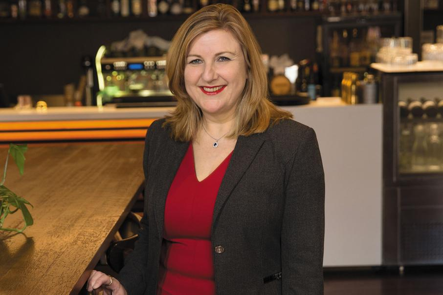 CEO lunch with Tracey Horton