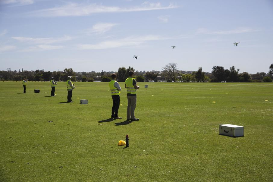 Drone schools in full flight