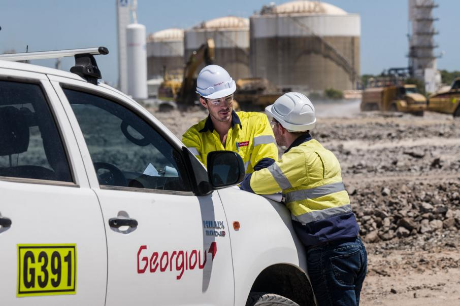 Georgiou wins $17m Kwinana contract