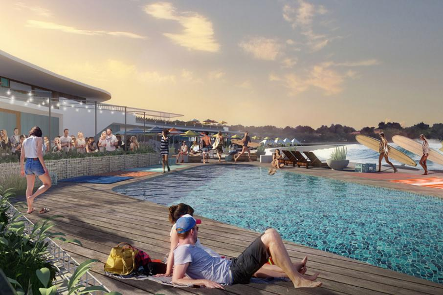Wave Park lease green light
