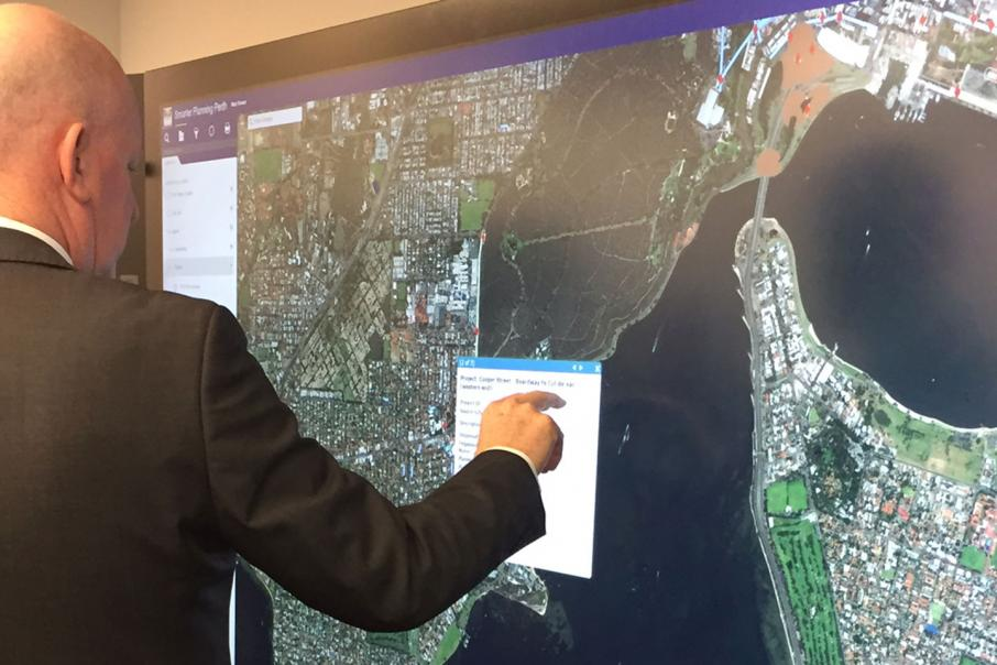 Perth joins global interactive mapping project business news for Cutting edge technology news