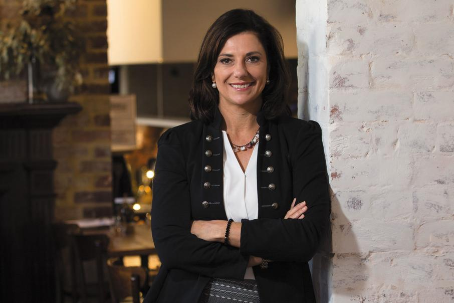 CEO lunch with Bronwyn Barnes