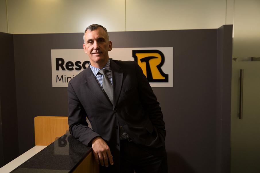 Resolute names new chairman