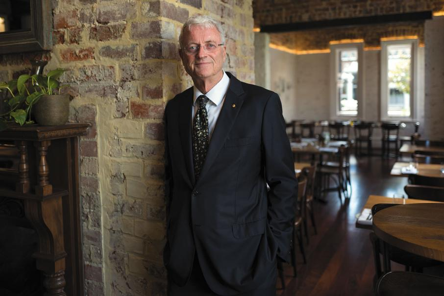 CEO lunch with Michael Chaney