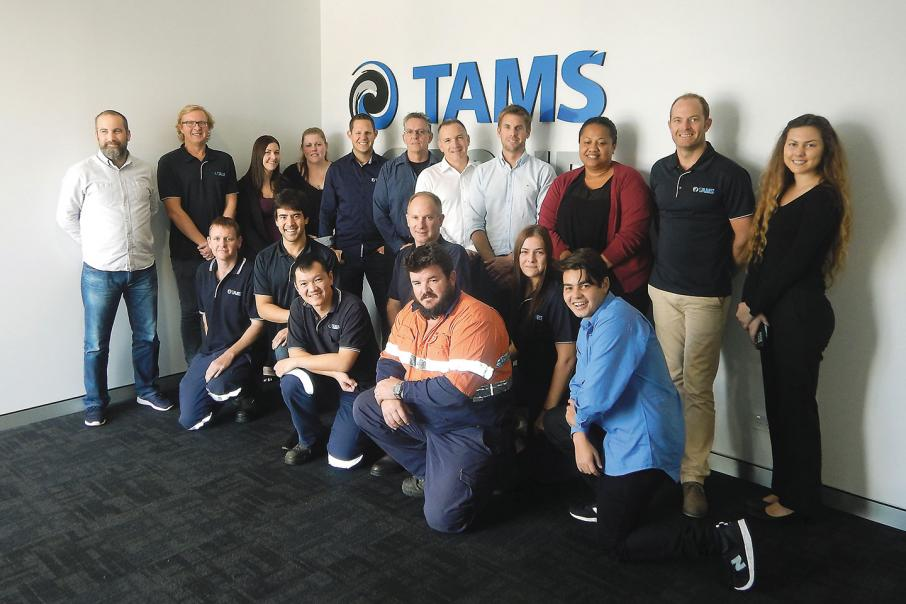 TAMS Group grows against the odds