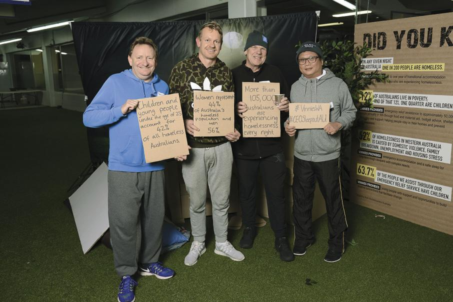 Felstead's $1m homeless pledge