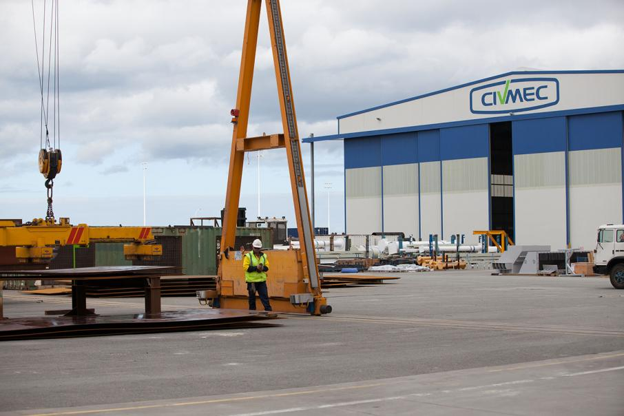 Civmec wins bridge contract