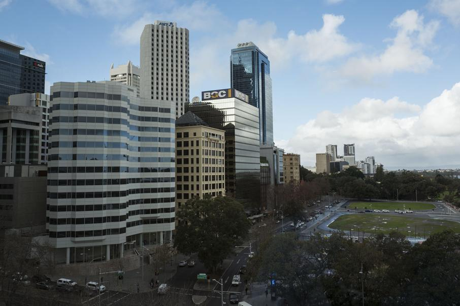 Perth office vacancies drop