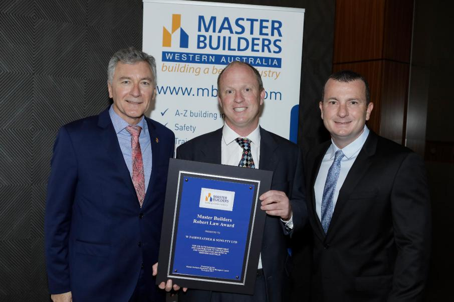 W Fairweather & Son wins top building accolade