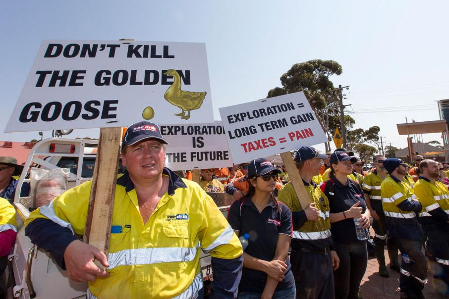 WA gold industry holds anti-tax rally
