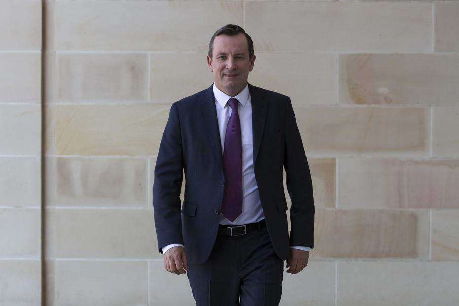 McGowan angry at opposition over gold