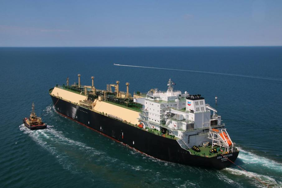 First Wheatstone gas shipped
