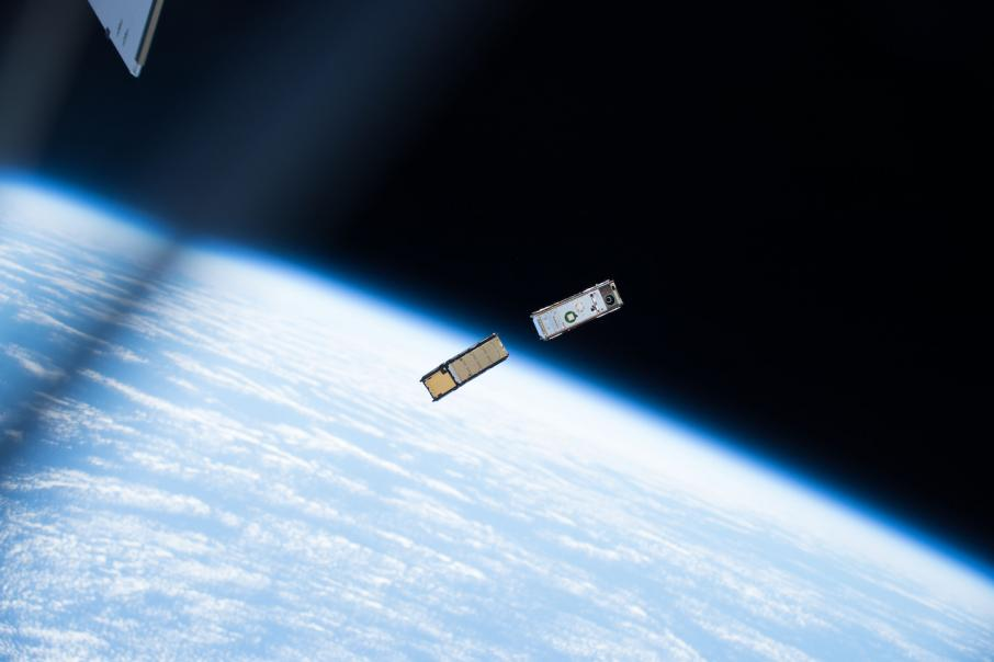 Sky & Space in world first nano-sat financial transaction