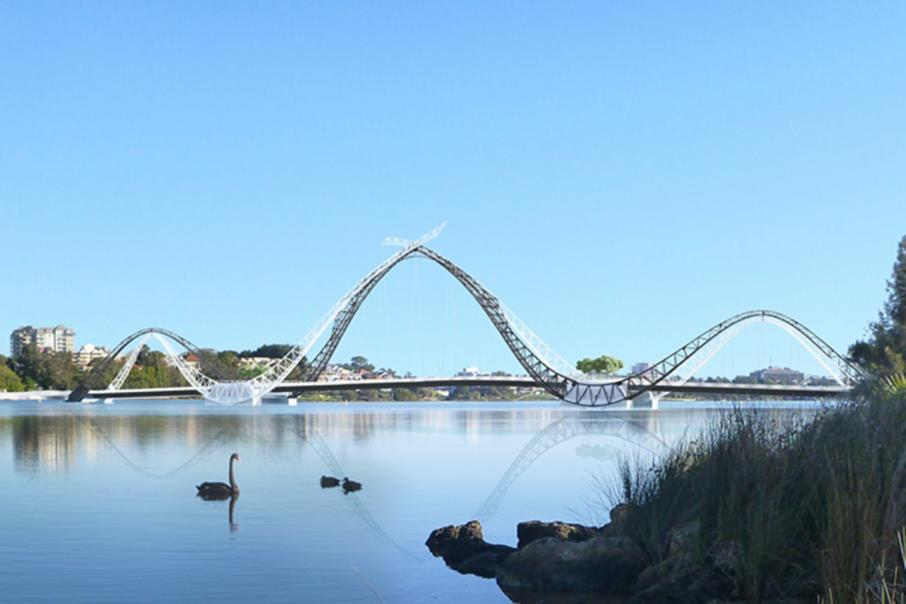 Design change for Swan River bridge
