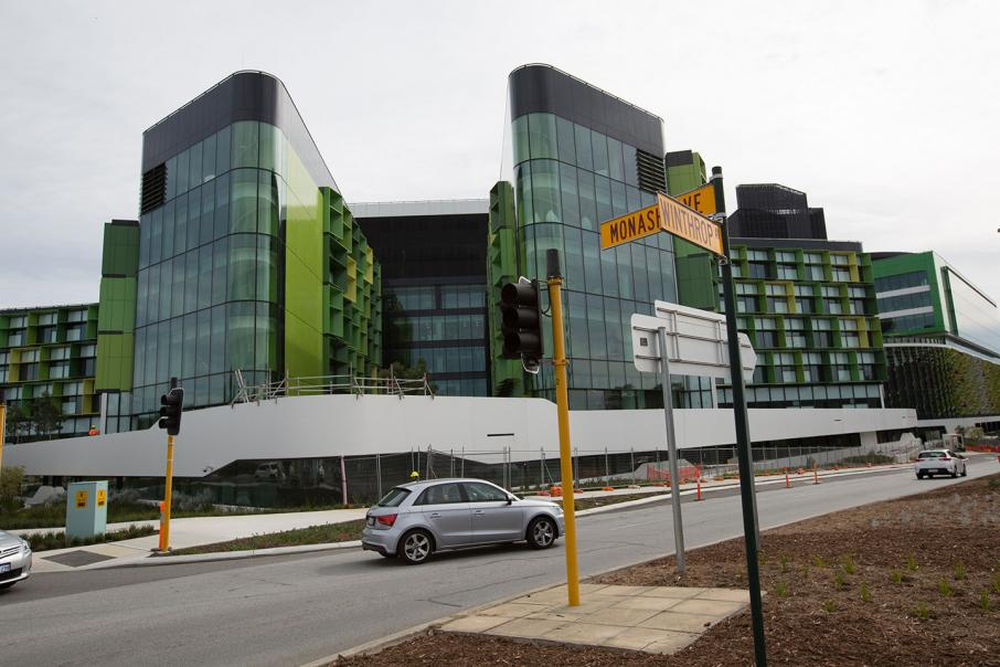 Perth Children's Hospital to open in May