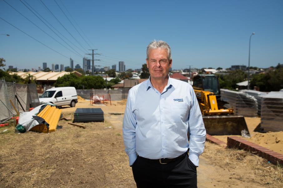 Thomas rebuilds his business in Perth