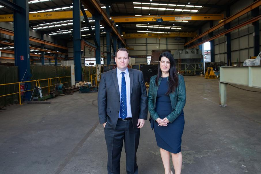 Conditions improving for industrial property