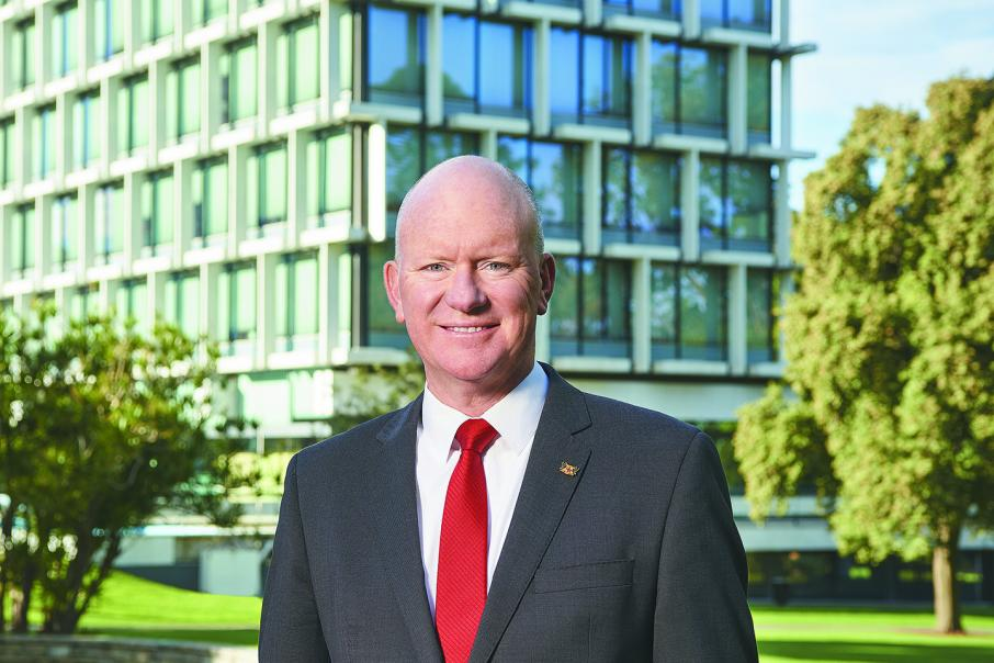 Perth CEO takes indefinite leave