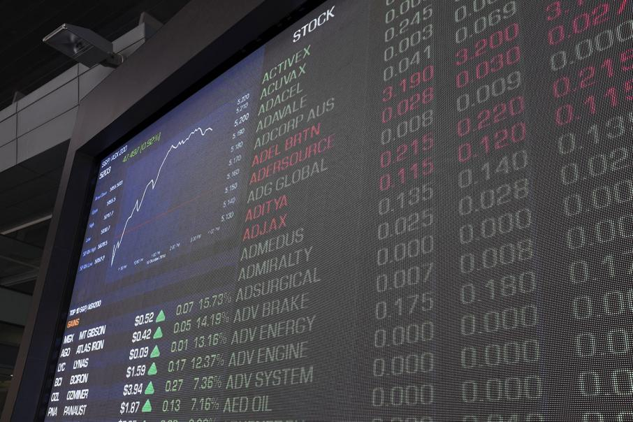 Positive results power shares higher