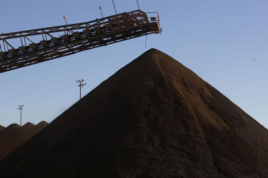 Fall tipped for iron ore price