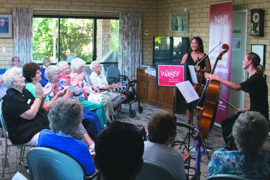 Amana delivers on arts for elderly
