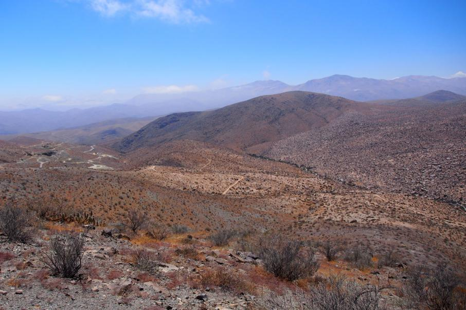 Hot Chili finds historical results showing 4.8% copper in Chile