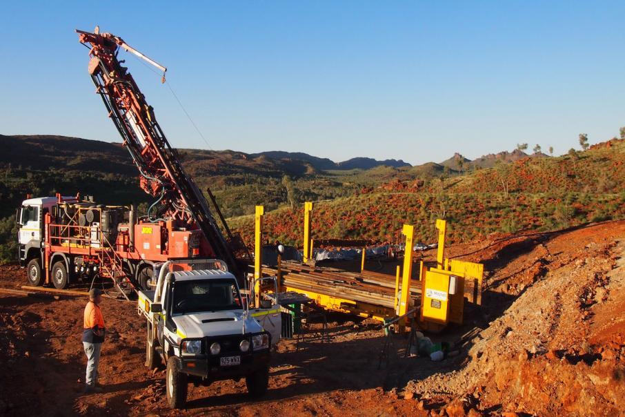 Hammer backs up maiden drill numbers at Mt Frosty