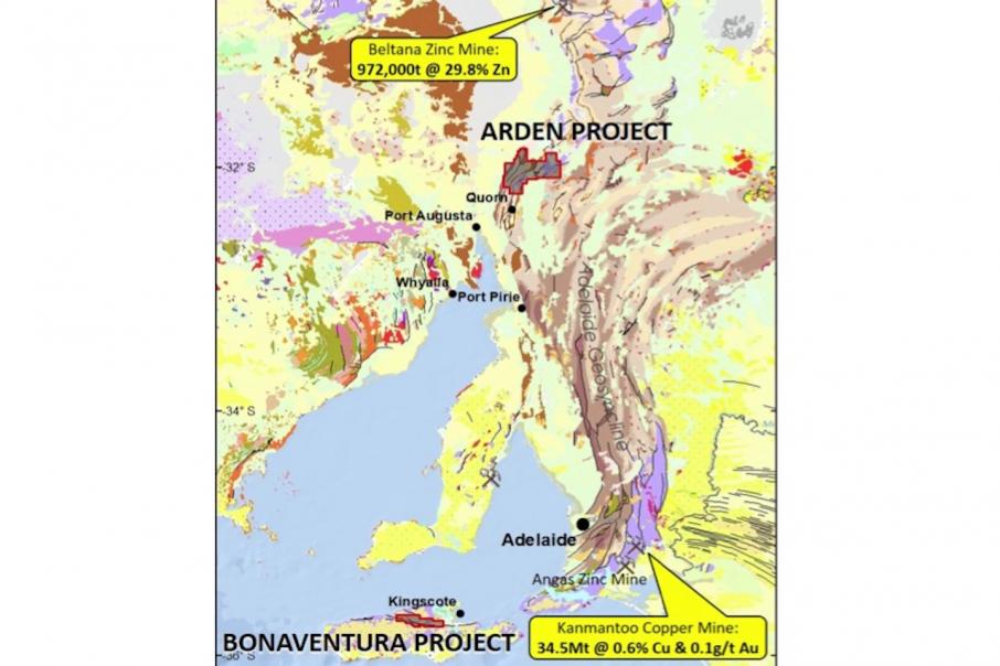 Auroch snaps up high-grade zinc/cobalt projects in SA