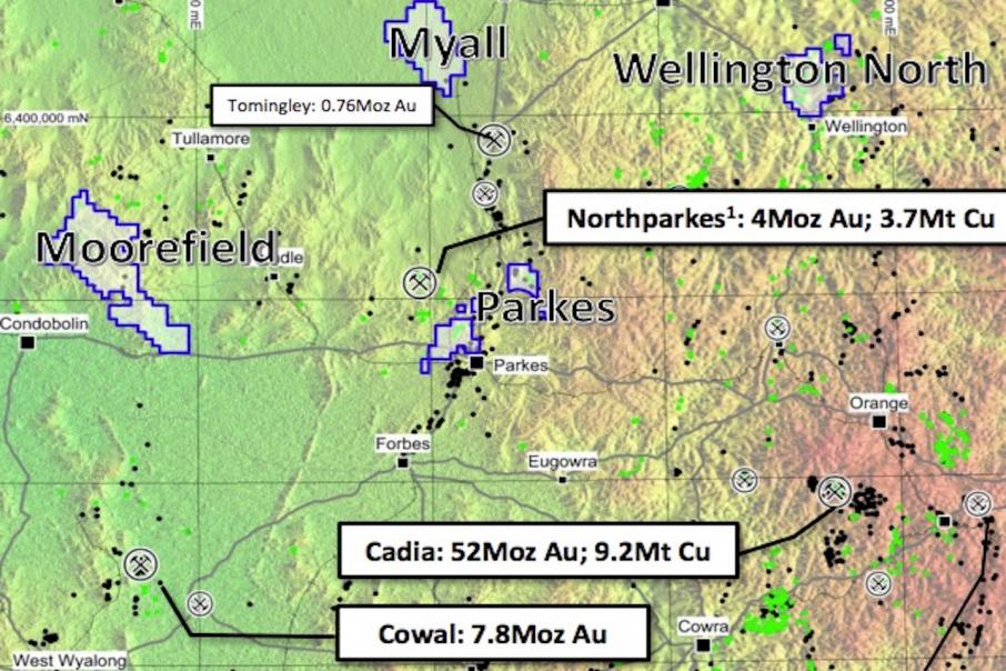 Magmatic gets onto gold system in NSW
