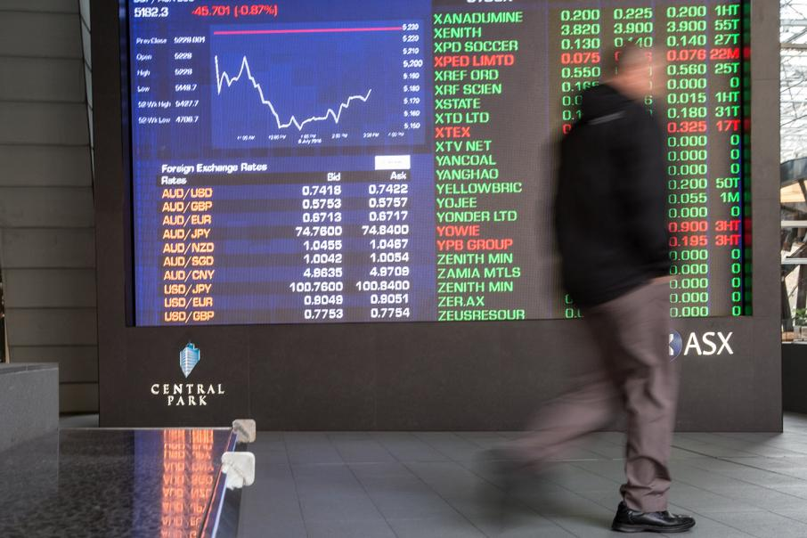Aust stocks open lower, led by miners