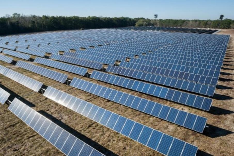 Image looks to sun for mineral sands project power