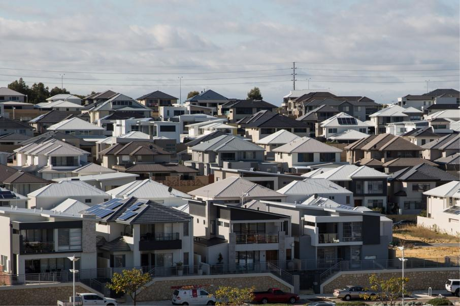 Perth house prices on the way up