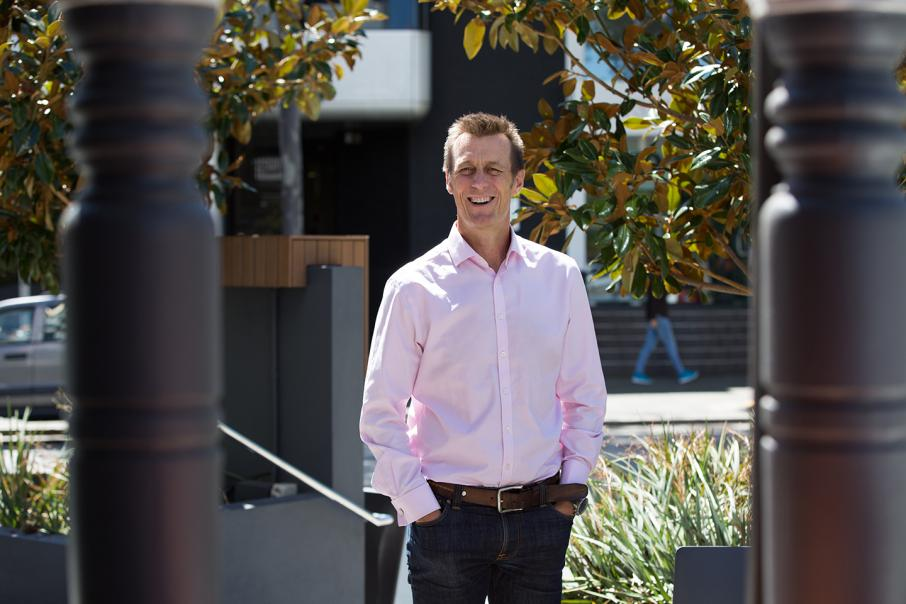 CEO lunch with Peter Harold