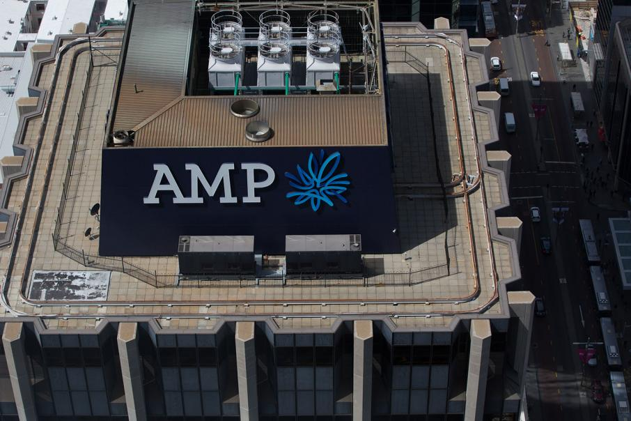 Angry shareholders give AMP 'first strike'
