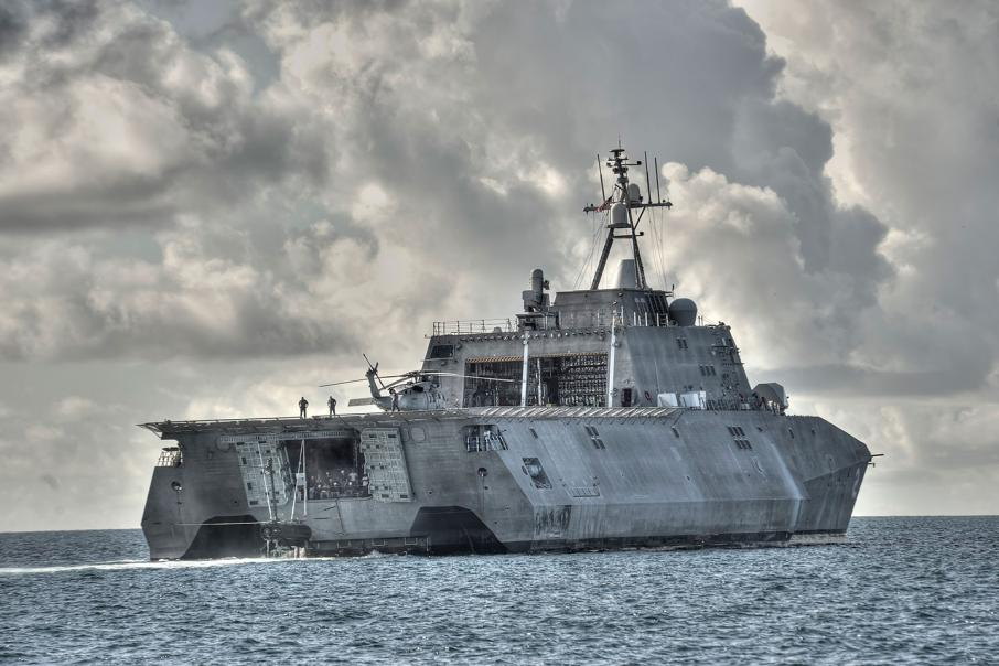 Austal out of patrol vessel build
