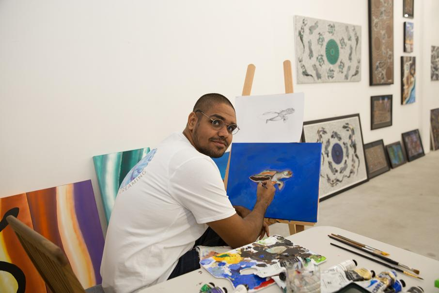 Indigenous gallery creates interest at Watertown